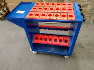 BT40 Taper Tool Cart...