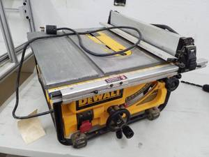 DeWalt DWE 7480 Portable Table Saw