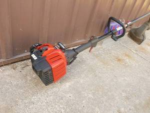 Craftsman 2 cycle weed trimmer. Tested & works. Lightly used. As shown.