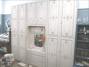 Gorgeous Antique Multi-Section Dresser *Pictures Do Not Do This Piece Justice****(9' X 9...