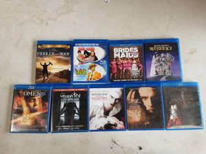 Assorted Blu-Ray Discs