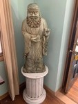 Amazing Large Figural Statue on Pedestal