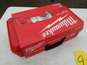Milwaukee 1/2in. Heavy Duty Right Angle Drill Kit 3107-6 with Carry Case