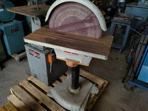 Cantek Model DS-20 20: Disc Sander,...