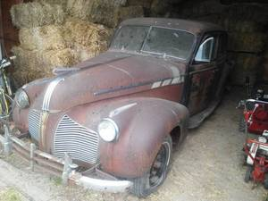 1940 Pontiac 4 door Suicide Doors,  No title - sold as parts only