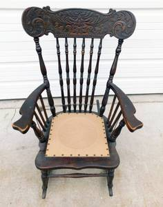 Antique 19th Century North Wind Rocking Chair