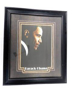 Barack Obama Matted and Framed  Print