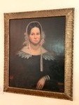 Oil on Board Antique (19th Century)  Portrait Painting