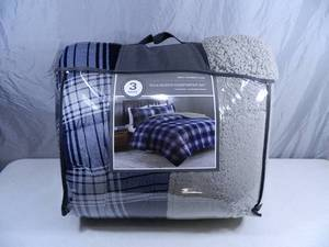 New 3 Pc Full / Queen Comforter Set
