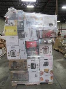 WHOLESALE MIXED PALLET OF SMALL COOKING APPLIANCES!