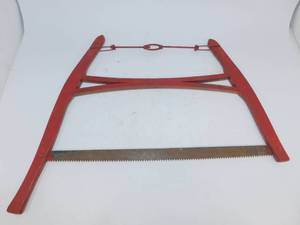 Vintage Red Buck Saw