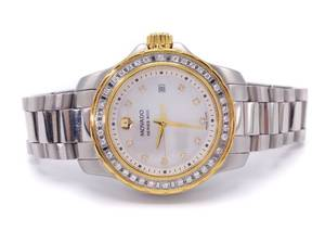 Ladies Movado 800 Series Diamond and Mother-of-Pearl Watch; $2499