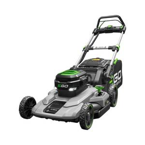 Ego 21 in. 56V Lithium-Ion Cordless Electric Walk Behind Self Propelled Mower,  Battery and Charger Included not used