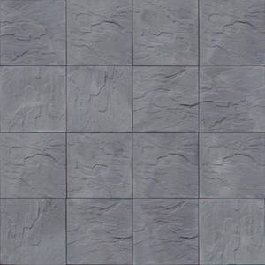 "Nantucket Pavers Patio-on-a-Pallet 18"" x 18"" Concrete Gray Traditional Yorkstone Paver (Pallet of 32-Pieces) 30641"