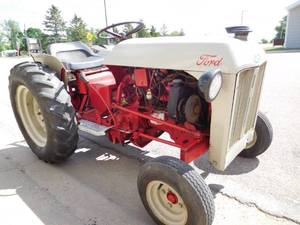 FORD 2N CUSTOM TRACTOR FORD FIESTA ENGINE AND TRANSMISSION