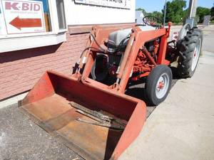 1949 Ford 8N with loader and 540 PTO
