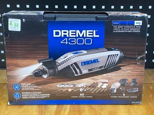 Dremel 4300 Rotary Tool With 45-Piece Accessory Set
