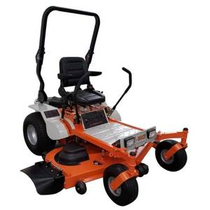 Z-Beast 62 in. 25 HP Gas Powered by Briggs and Stratton Pro Engine Zero-Turn Commercial Mower with Free Rollbar and Headlight 62ZBBM20