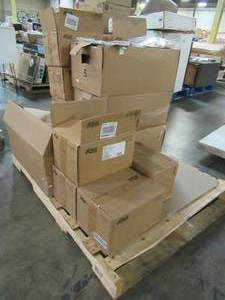 WHOLESALE MIXED PALLET OF MISCELLANEOUS GRAB HOOKS, EYE BOLTS, TURNBUCKLES AND MORE!