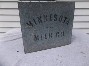 Milk Box From Minnesota Milk Co.