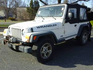 2005 Jeep Wrangler SE 2-Door Open Body Wagon