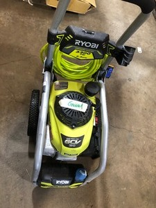 RYOBI 3300 PSI 2.3 GPM Cold Water Gas Pressure Washer with Honda GCV190 Idle Down In good condition see pics !!