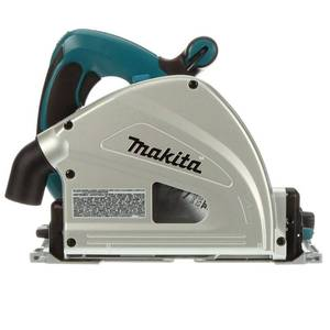 MAKITA 12 Amp 6-1/2 in. Corded Plunge Saw with 55 in. Guide Rail, 48T Carbide Blade and Hard Case in good condition