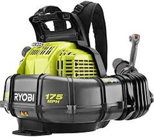 175 MPH 760 CFM 38cc Gas Backpack Leaf Blower in good condition