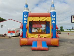 12' x 13' Moon Walk Bounce House