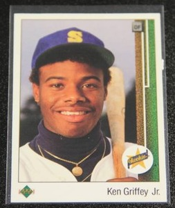 1989 Upper Deck Ken Griffey Jr #1 Rookie Card