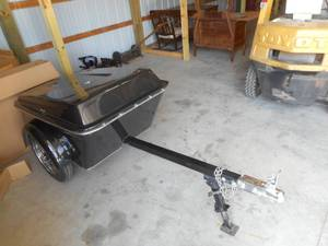 2006 American Legend Motorcycle Trailer