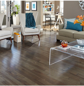 400 SF Solid Hickory Hardwood Flooring - Ember -3 1/4