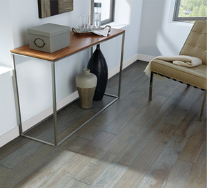 "342 SF of Beautiful Handcrafted Maple Engineered Flooring - Ocean Gray - 1/2""x RW"