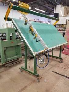 Castle Industrial 4-Head Face Frame Assembly Rolling Work Table