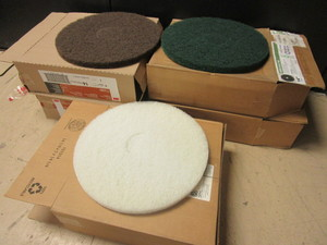 "FLOOR MAINTENANCE 14"" PADS - NEW"
