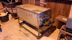 Large Parts Washer on Wheels w/ Pump