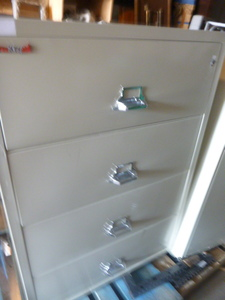 Fire King Fire Proof File Cabinet