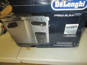 Delonghi Deep Fat Fryer open box, u...