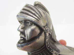 Original 1920's WILLY'S KNIGHT Radiator Cap Hood Ornament