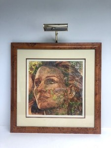 "Framed Signed Numbered BEV DOOLITTLE Print - ""The Earth Is My Mother"""