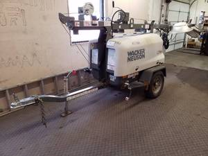Wacker Neuson 4-Lamp LTN6 Pole Light Trailer 18365N