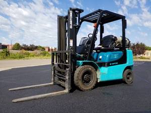 Sumitomo 5K Forklift 2-stage 25 LP with Fork Positioners