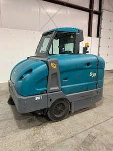 8/3/20 Update: RESERVE LOWERED TO $5,000 - - - 2013 Tennant S30 Sweeper