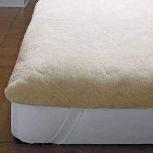 Imperial Wool Mattress Pad Natural QUEEN, M410-01-Q-NATURAL - NEW!