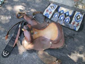 Pat Earnhart Saddle & Other Horse I...