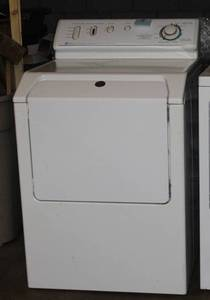 White Maytag Front Load Gas Dryer