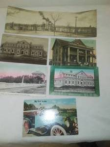 7 Fergus Falls Postcards, Wright, St. Lukes, State Hospitals & more.