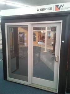 New Anderson A-Series Architectural Collection Gliding Door Window.
