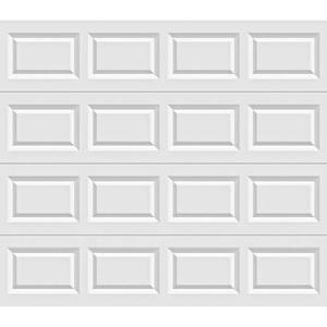 Clopay Classic Collection Series 8 ft. x 6 ft. x 6 in. 6.3 R-Value Insulated White Garage Door, HDS