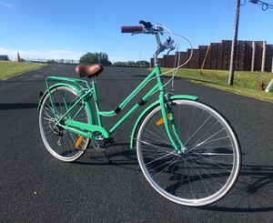 Like-New REID'S Ladies Classic Mint Green Bicycle